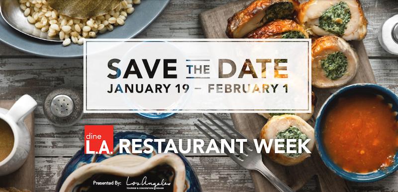 dineLA Restaurant Week 2015