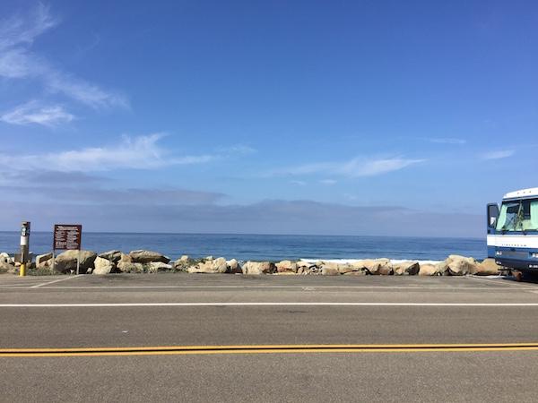 Rincon Parkway Beachfront RV Camping in Ventura, CA