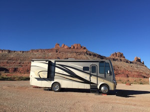 Seven Mile Parking Utah RV
