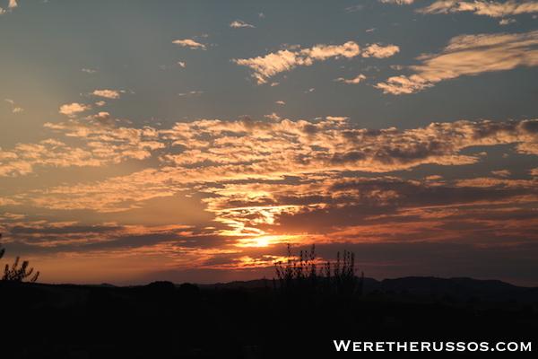 Rio Seco Sunset