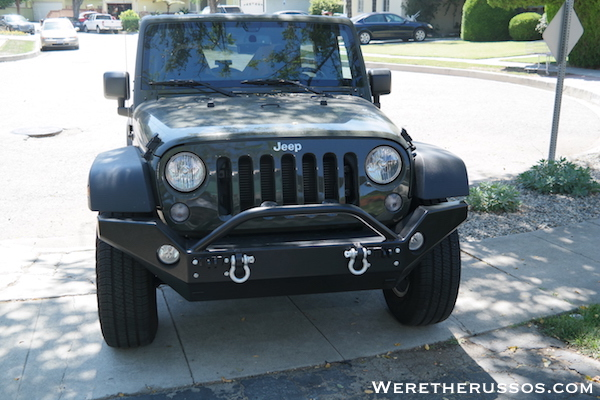 Jeep Wrangler Review - Front