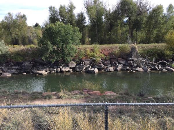 Eagle River fence