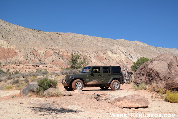 Jeep Wrangler Review - Toquerville Falls