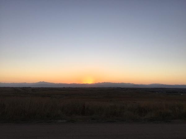 Missile Site Park Sunset