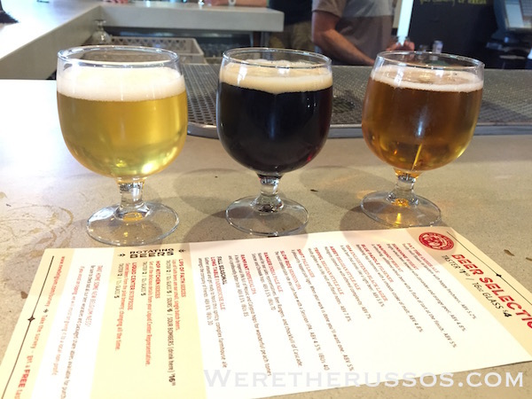 New Belgium Fort Collins beer tasting