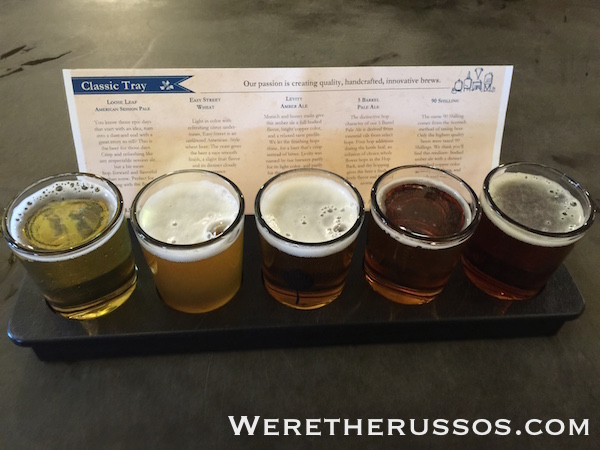 Odell Brewing Fort Collins Classic Tray