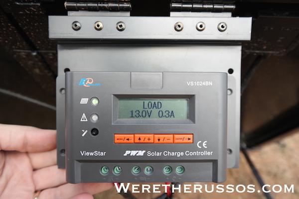 Renogy Portable Solar Panel - Controller