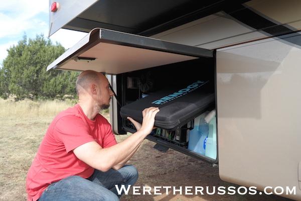 Renogy Portable Solar Panel - Storage