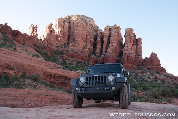 Broken Arrow Trail - Jeep