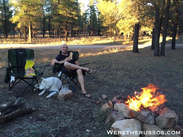 Campfire Joe and Leo