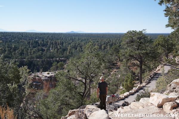 Grand Canyon South Rim Rim Trail Leo