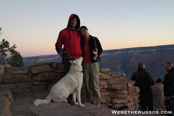 Grand Canyon South Rim Sunrise Leo