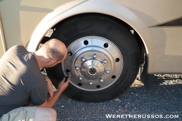 RV Checklist - Tire