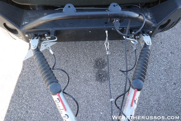 How to Flat Tow a Jeep Wrangler - Tow Bar