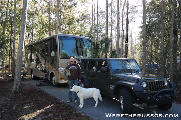 RV Camping at Disney's Fort Wilderness