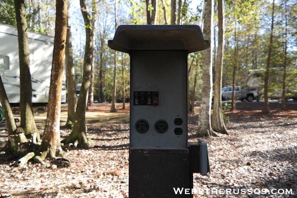 Disney's Fort Wilderness full hookup site 3