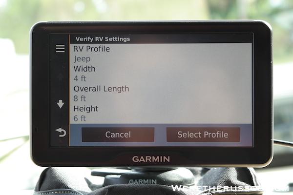Garmin RV GPS 10