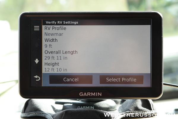 Garmin RV GPS 9