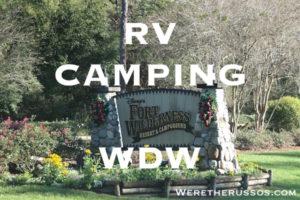 RV camping Disneys-Fort-Wilderness