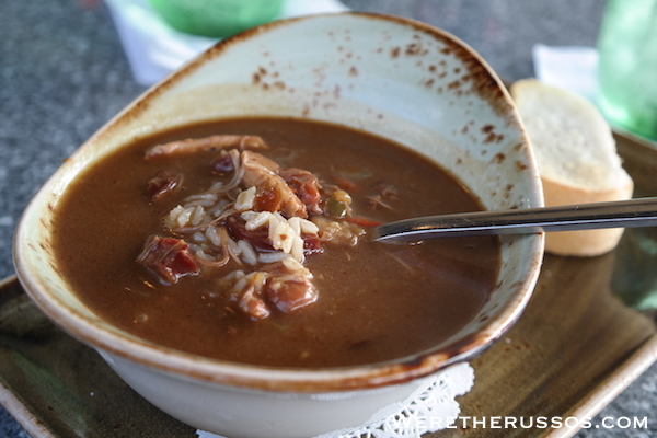 Dark Roux Sausage Chicken Gumbo