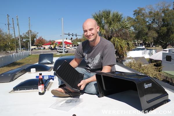 Fan-tastic ultra breeze vent cover installation