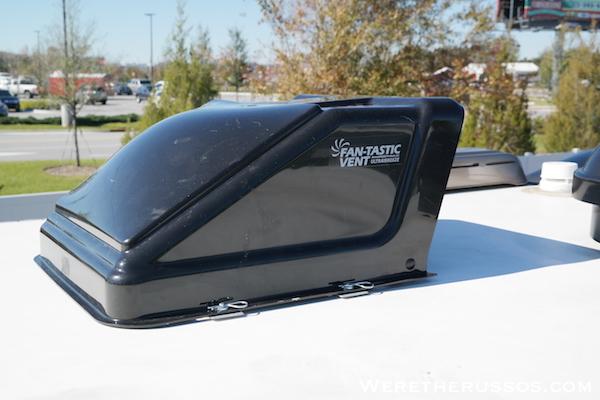 Fan-tastic ultra breeze vent cover installed