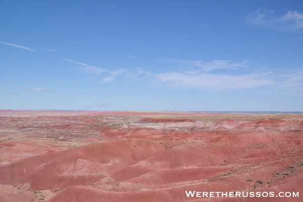Petrified Forest National Park painted desert