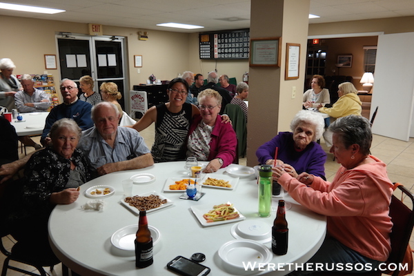 Winter Quarters Pasco RV Resort welcome back party