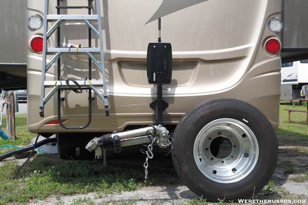 Roadmaster Spare Tire Carrier Tire