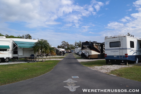 Space Coast RV Resort FL 3