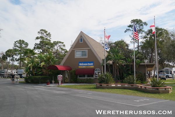 Space Coast RV Resort FL
