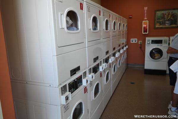 Lazy Days RV Resort laundry