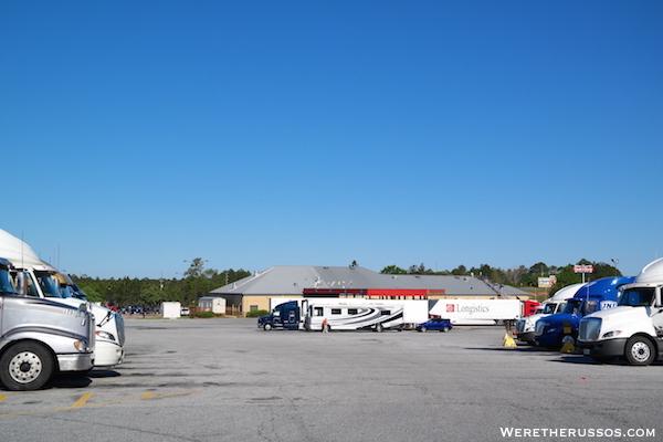Pilot Truck Stop Parking 2