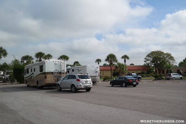Thousand Trails Orlando RV checkin
