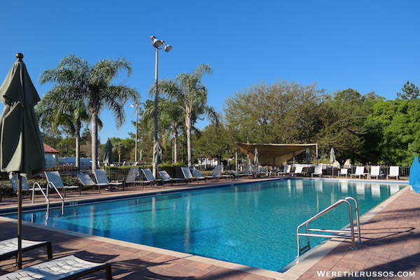Thousand Trails Orlando pool