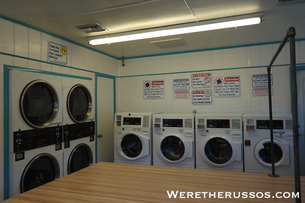 Travelers Campground Alachua Florida laundry