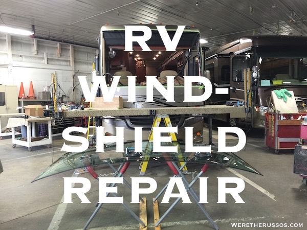 RV Windshield Repair - Class A RV Windshield Replacement Cost