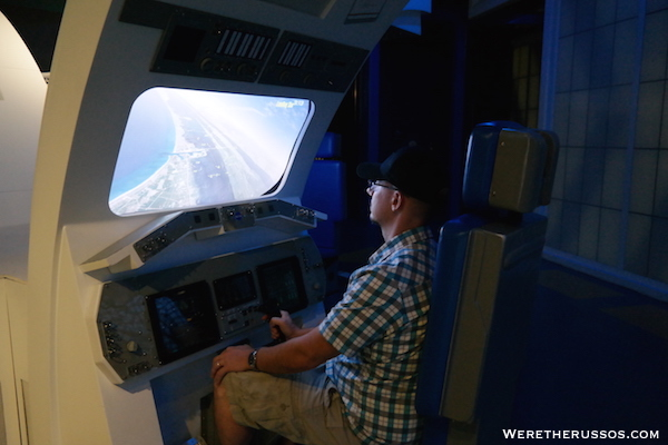 Kennedy Space Center Space Shuttle Landing Simulator
