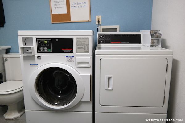 D&W Lake Camping RV Park Champaign laundry