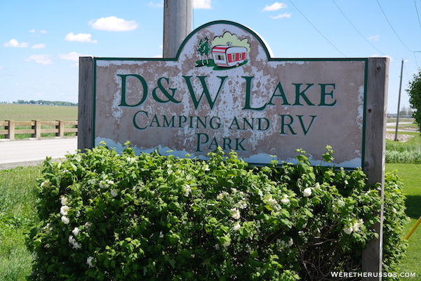 D&W Lake Camping and RV Park Champaign, Illinois
