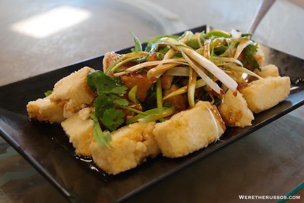 Golden Harbor Crispy Tofu