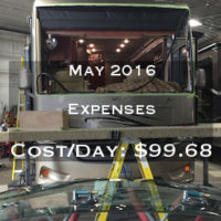 Full Time RVing Costs: Motorhome Edition - May 2016