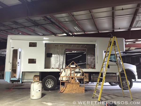 Custom Motorhome Conversions 4x4 expedition vehicle