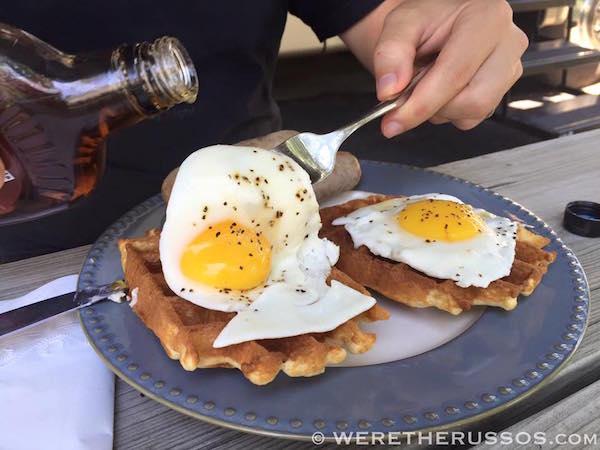 Brunch gluten free waffles