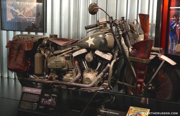 Harledy Davidson Museum Captain America