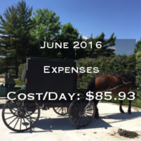 Full Time RVing Costs: Motorhome Edition - June 2016