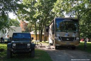 Pine Country RV Resort full hookup site