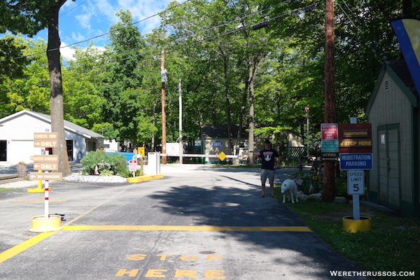 Tranquil Timbers RV checkin