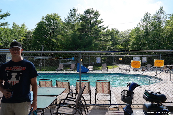 Tranquil Timbers pool