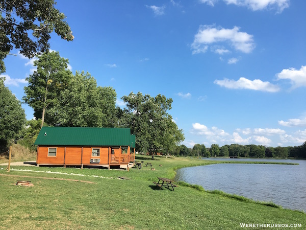 Clays Park Ohio cabin